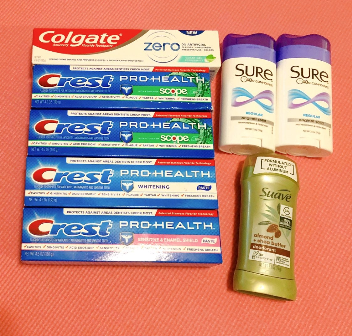 Toothpaste & deodorant bundle