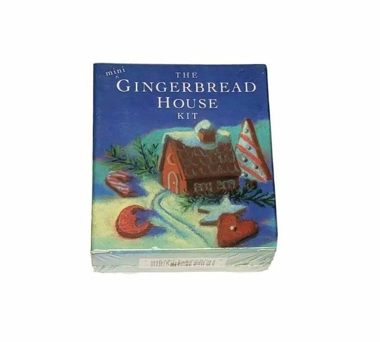 MINI GINGERBREAD HOUSE KIT Incl 2 Cutter