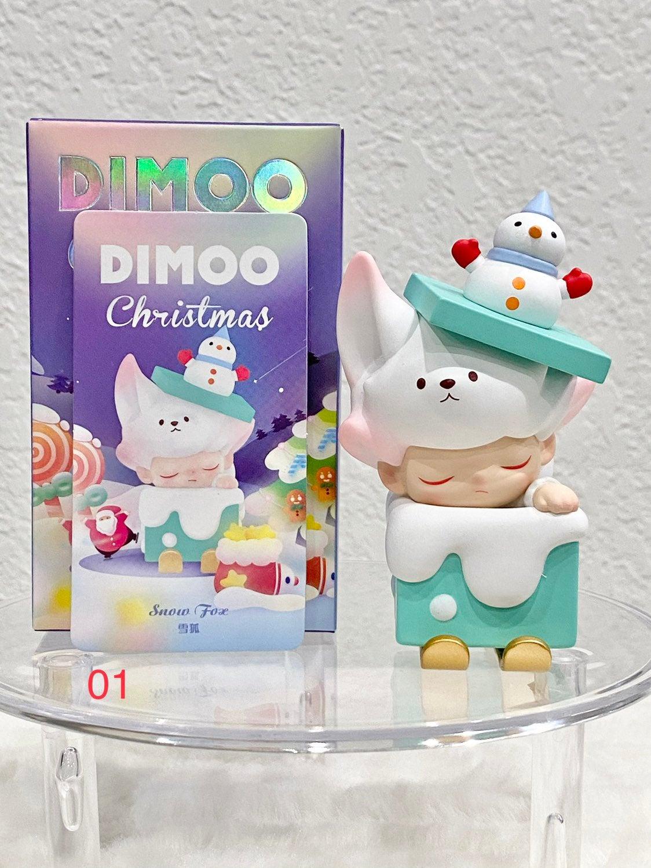 Popmart Dimmo Christmas Snow Fox