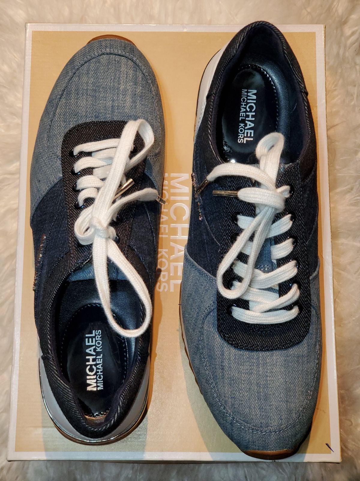 Mk denim sneakers