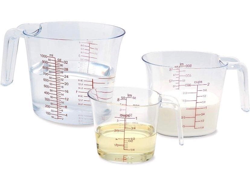 New! 3-Piece Measuring Cup Set