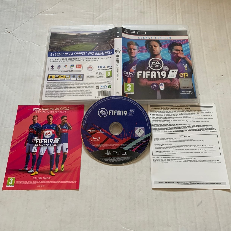 Playstation PS3 FIFA 19: Legacy Edition