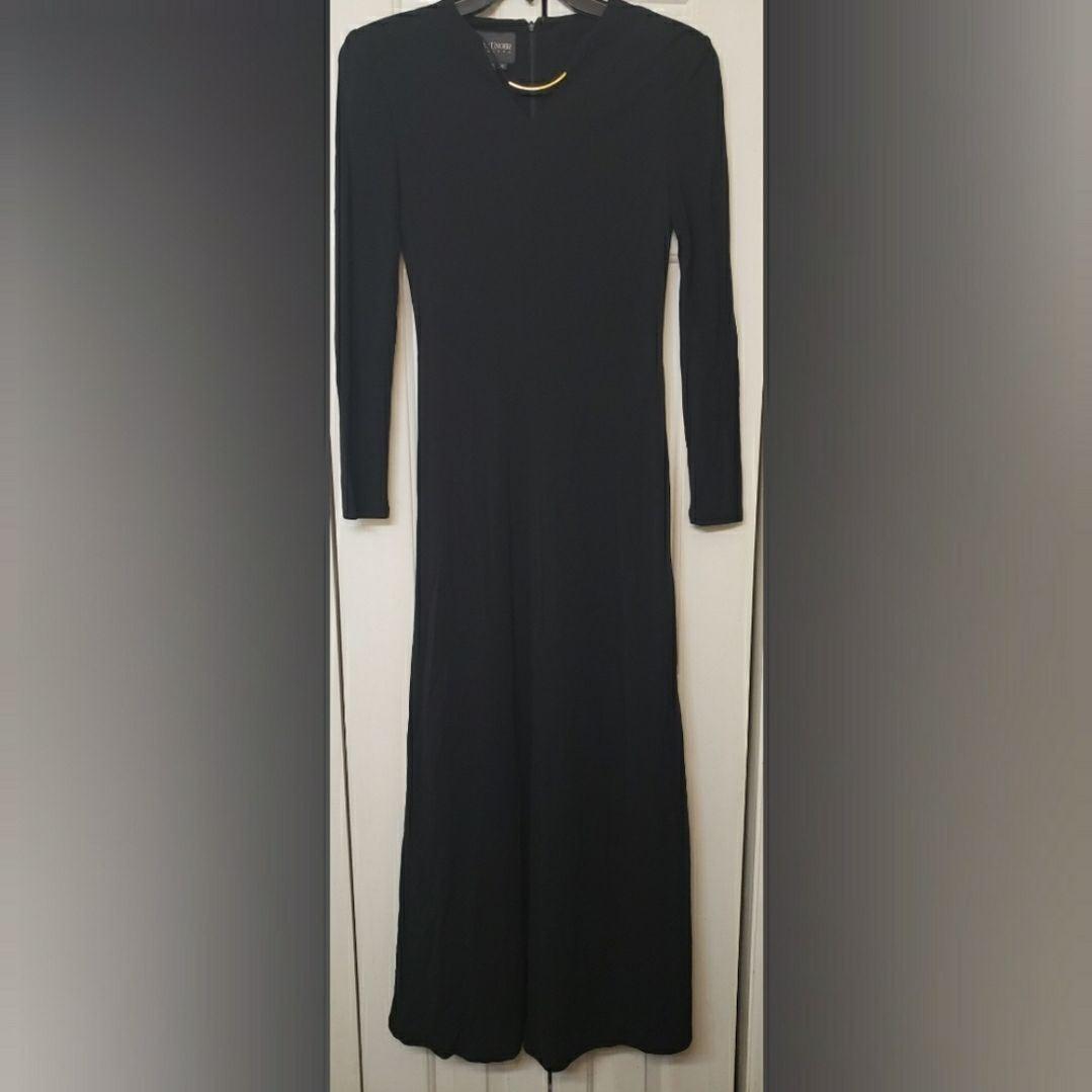 Kay Unger New York Rayon Long Sleeve Max