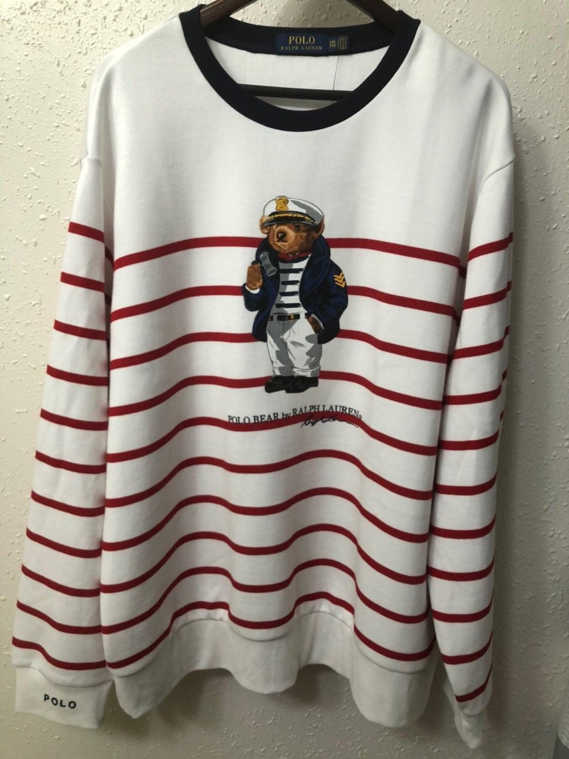 Polo Ralph Lauren Bear Sweatshirt XXL