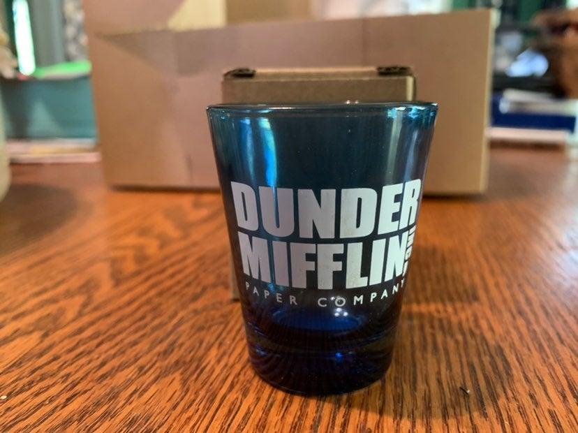 The Office Dunder Mifflin Shot Glass