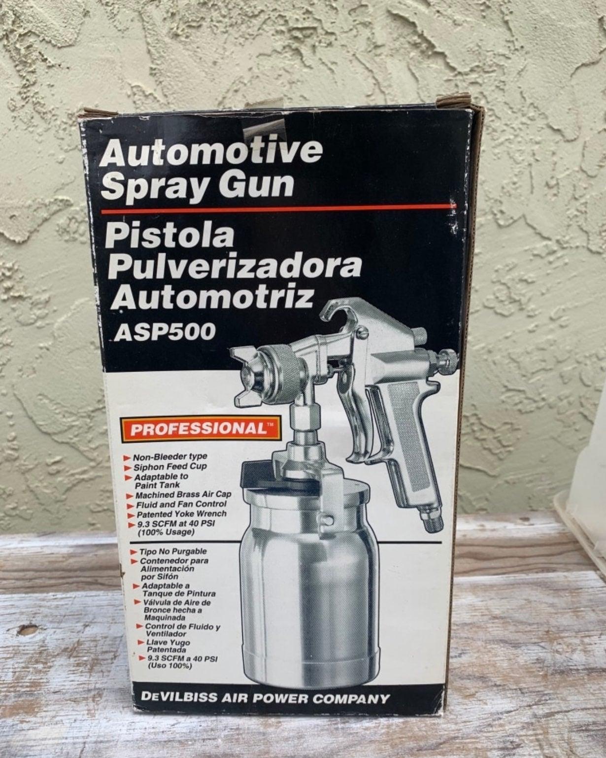Automotive spray gun
