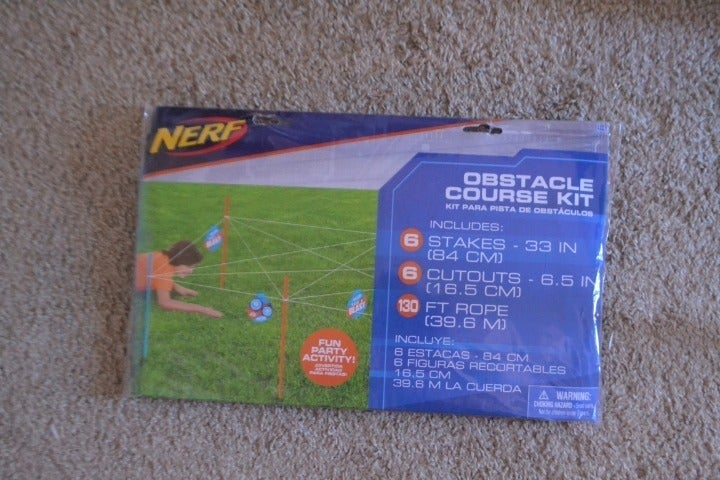 Nerf Obstacle Course Kit