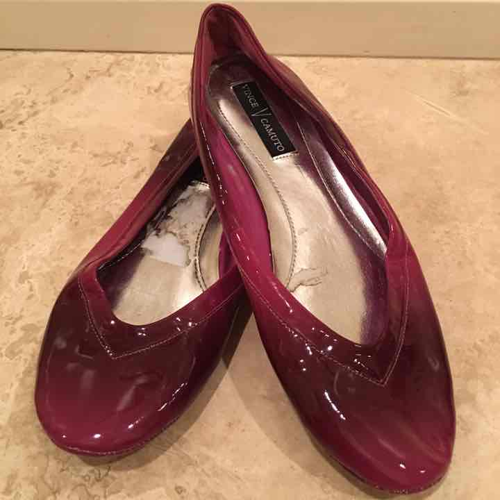 VINCE CAMUTO Purple Pink Ballet Flat 7.5