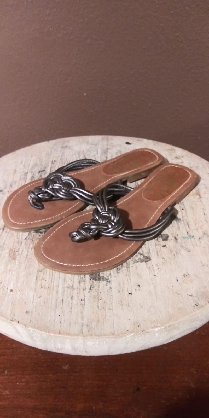 Callisto-Woven Sandal