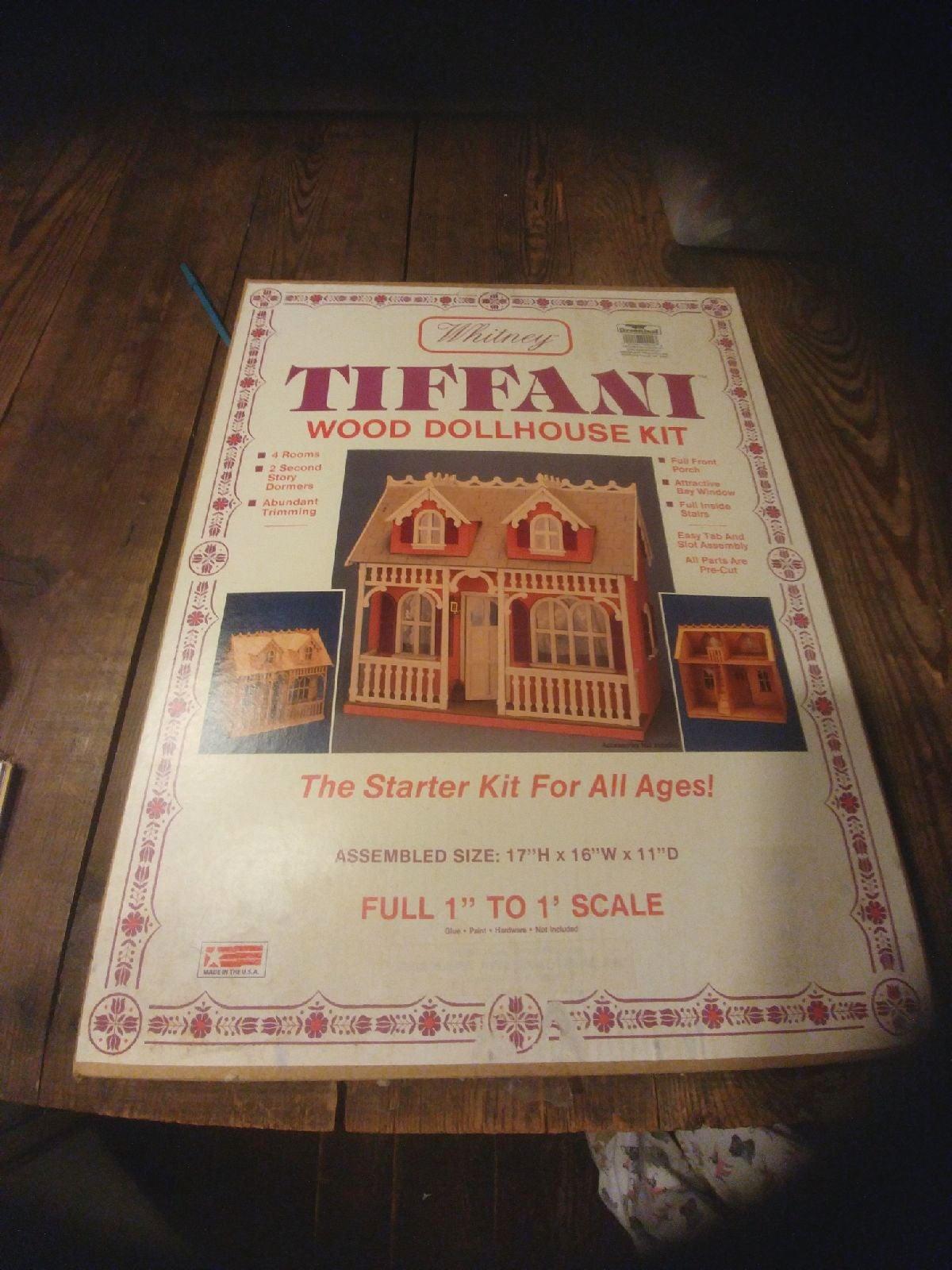 Greenleaf Tiffani Wood Dollhouse Kit