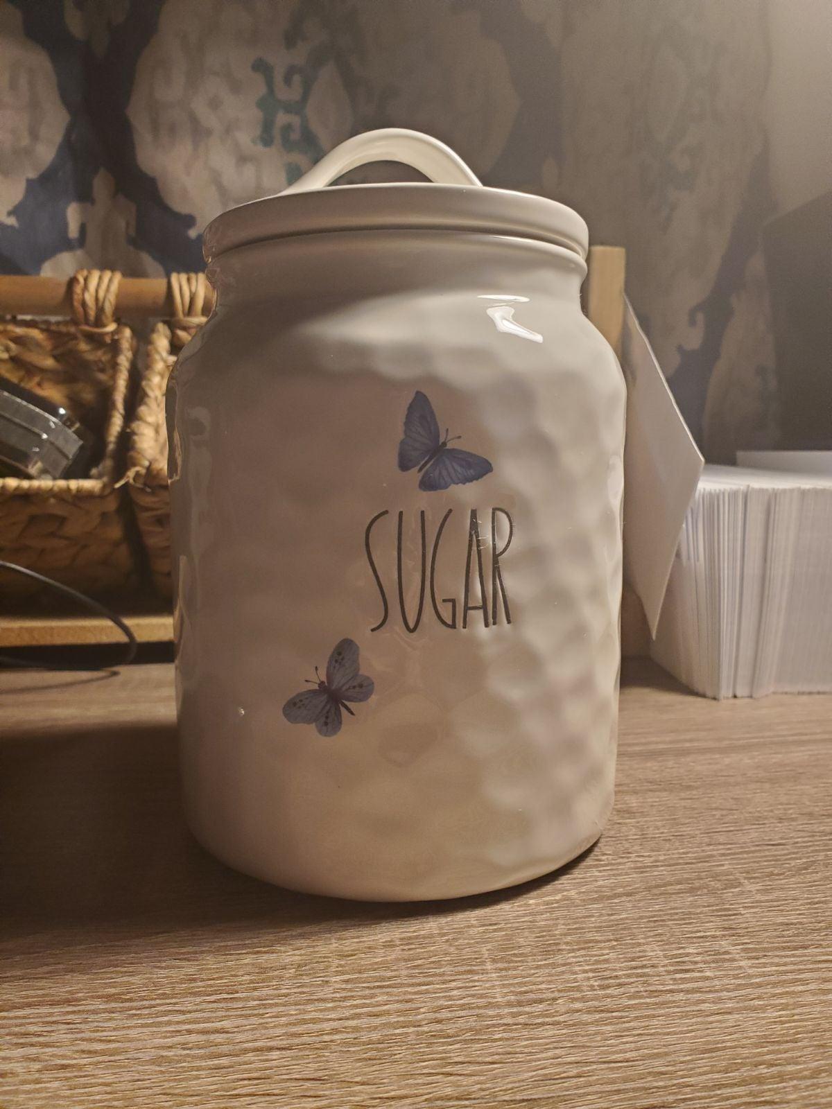 Large Sugar Cannister