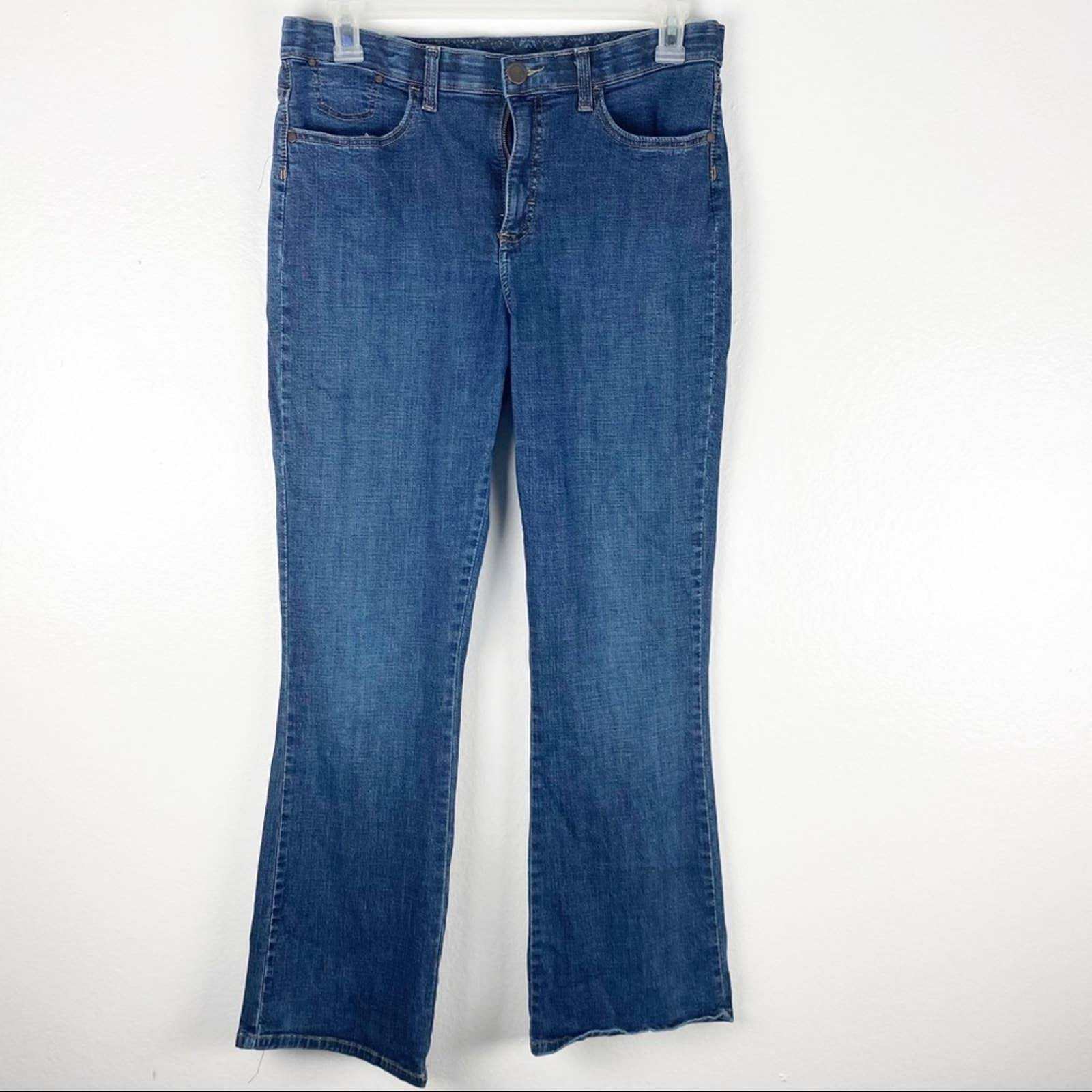 LEE High Rise Elastic Waist Jeans