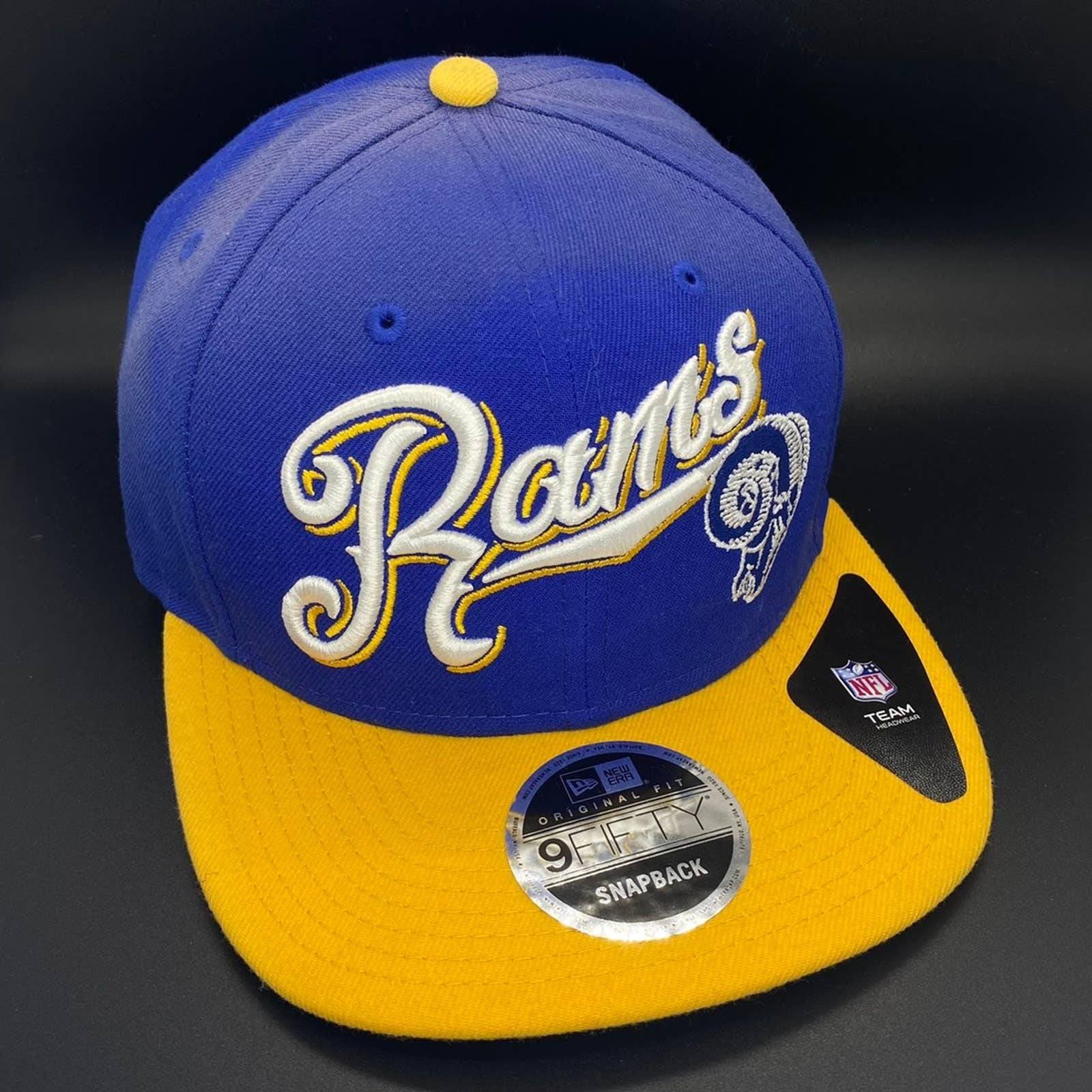 Los Angeles Rams Snapback Hat