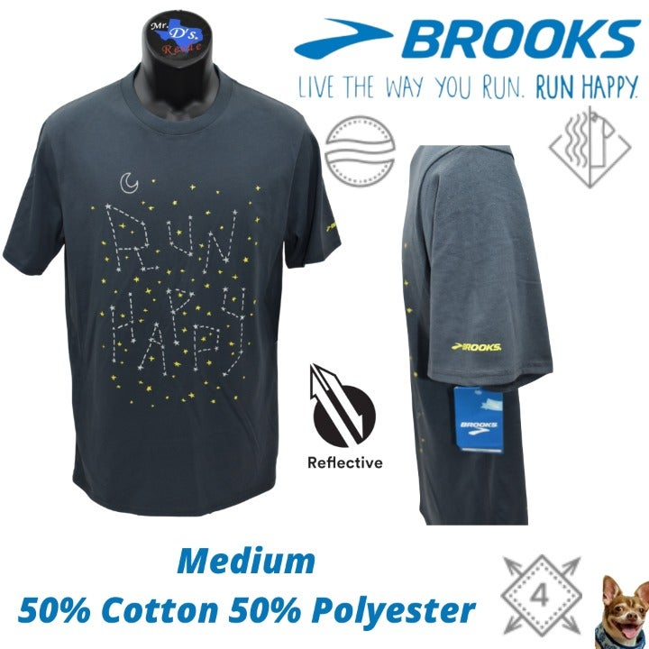 Brooks Medium To the Moon and Back S/S