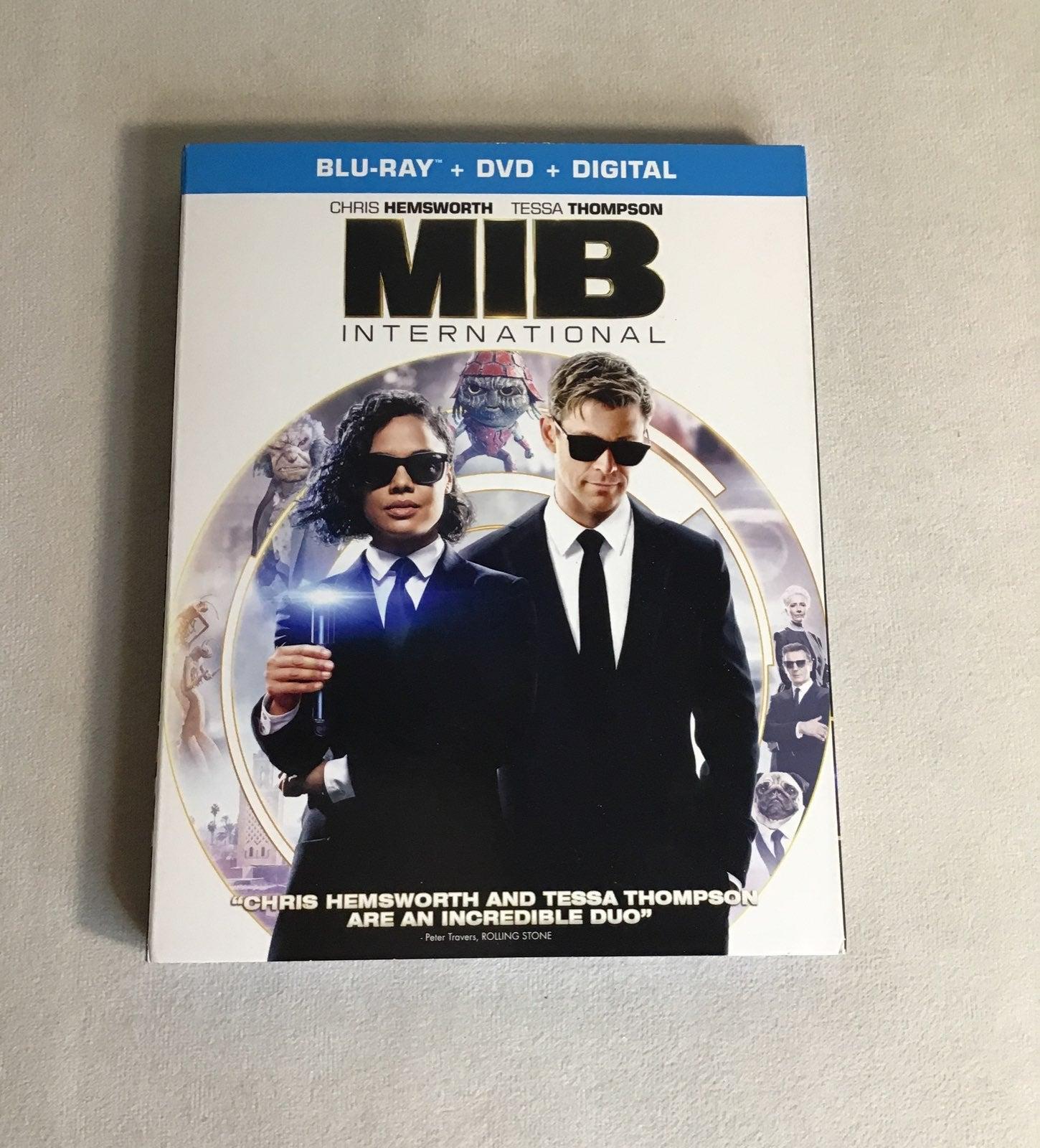 MIB International dvd bluray