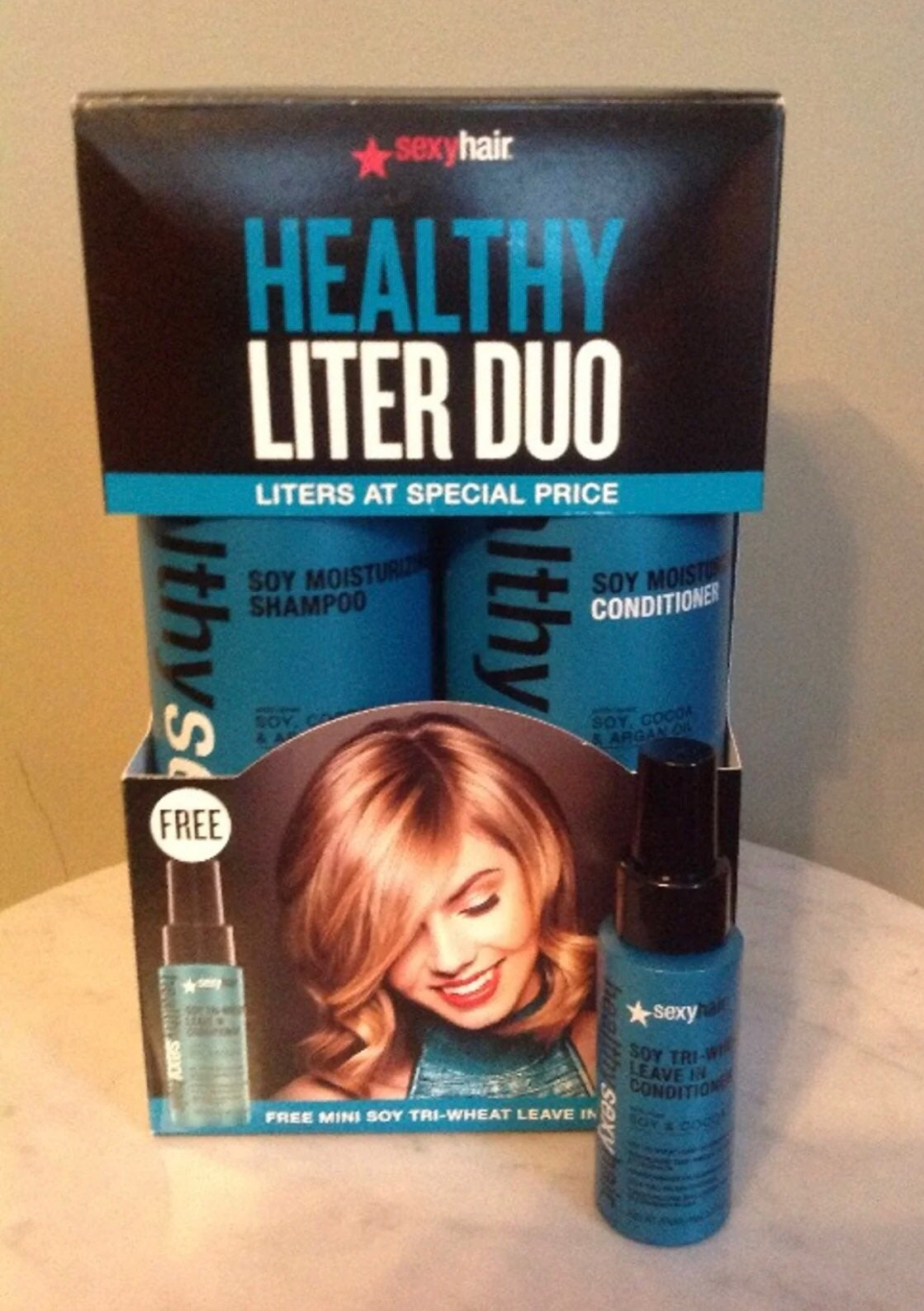 Sexy Hair Healthy Liter Duo