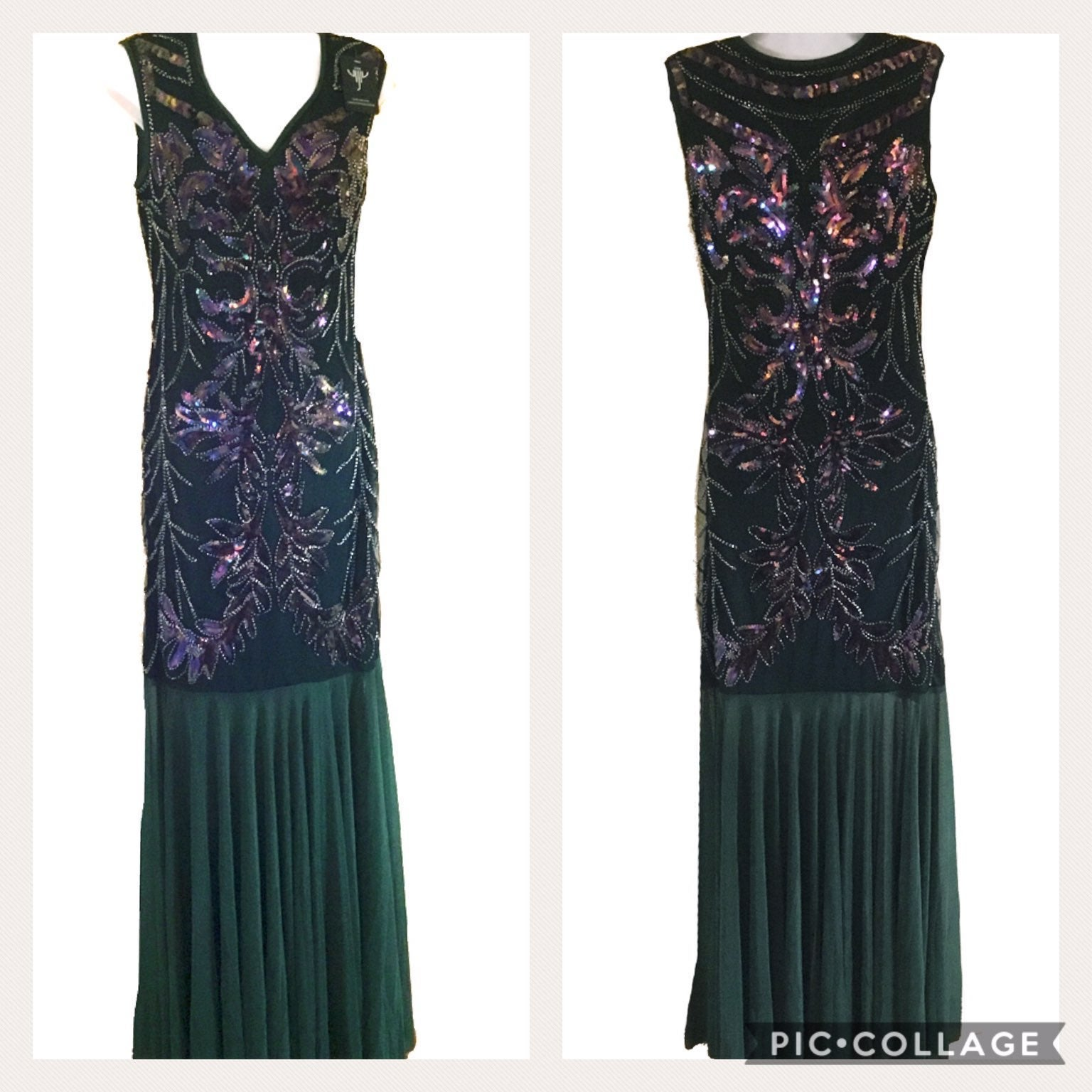 NWT Sequined Dance Dress