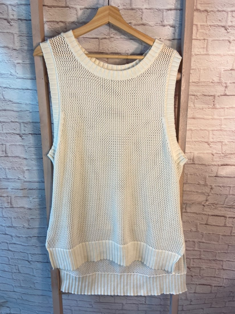 Cabi Open Weave Sweater