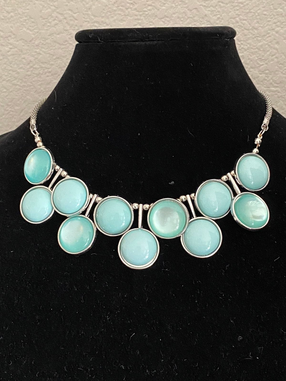 Charming Charlie Necklace Blue
