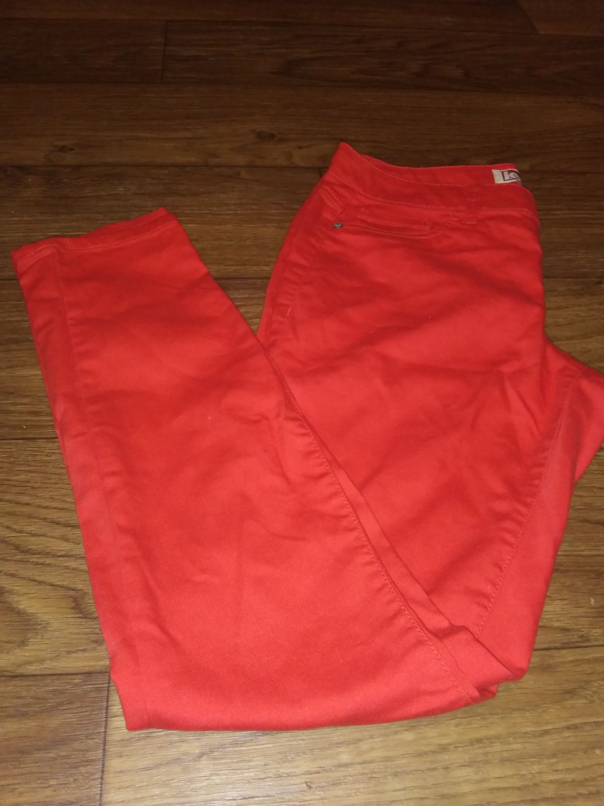 Lei Red Pants