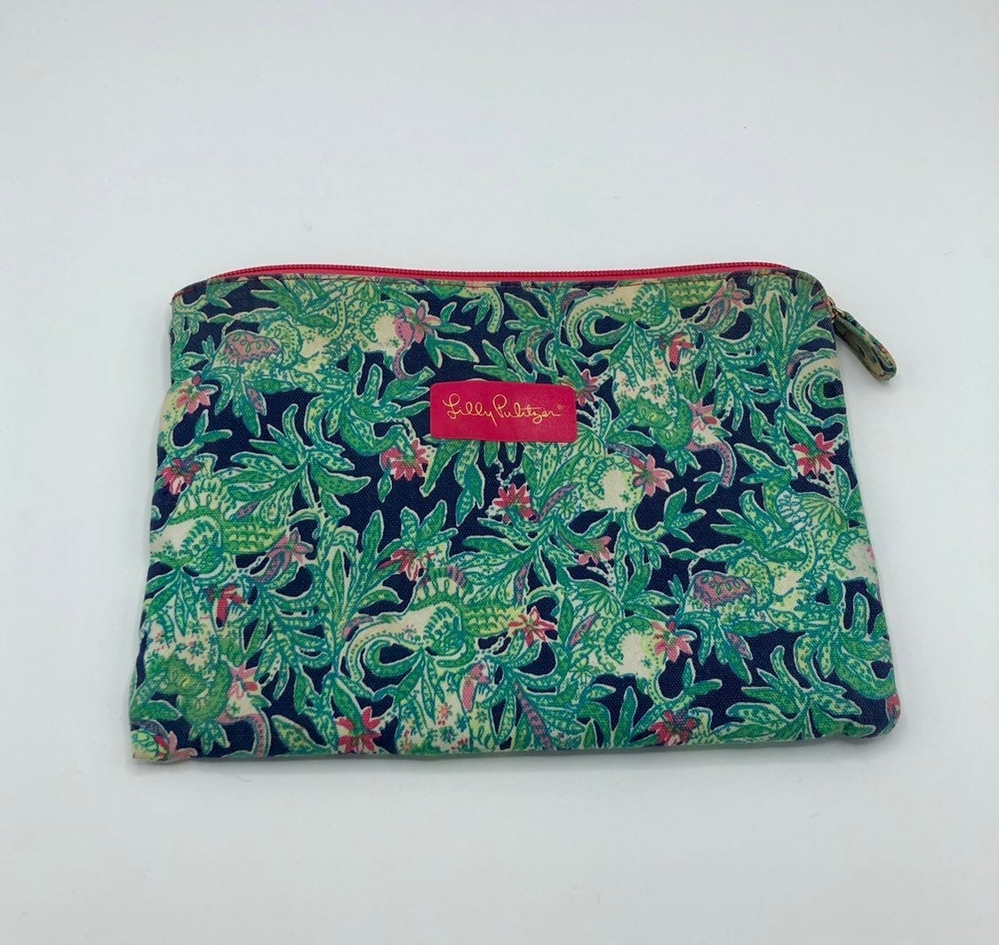 Lilly Pulitzer Accessory Pouch Palm