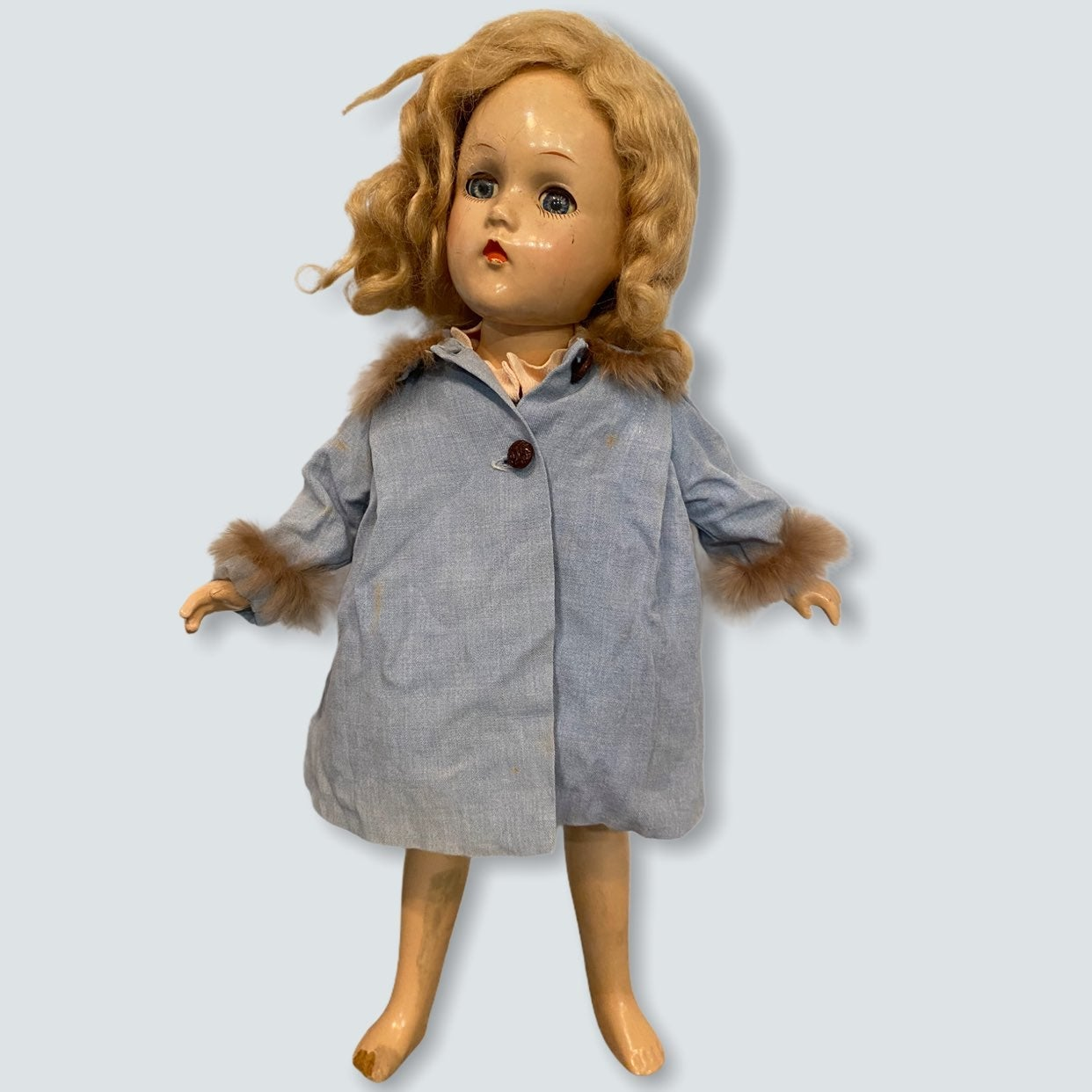 Vintage Compo Madame Alexander Doll