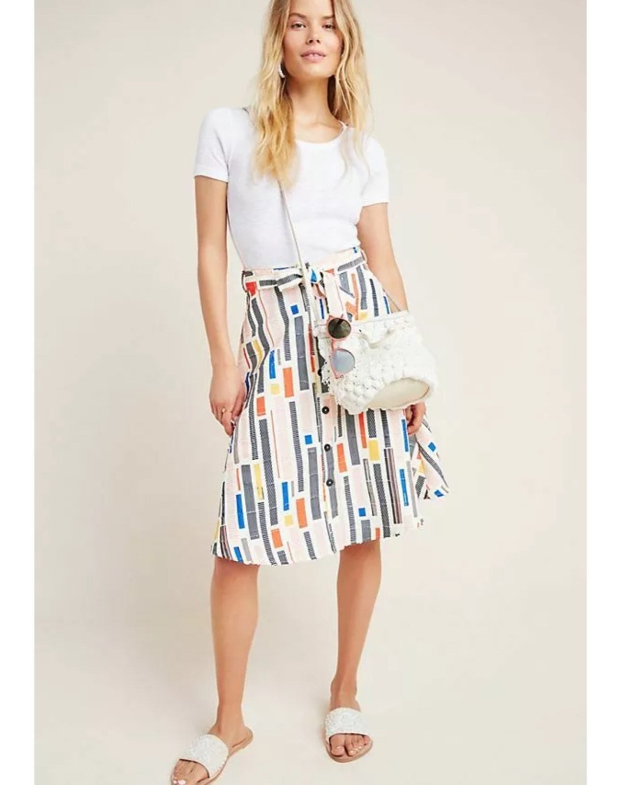 Hutch Colorful Willem A-Line Skirt