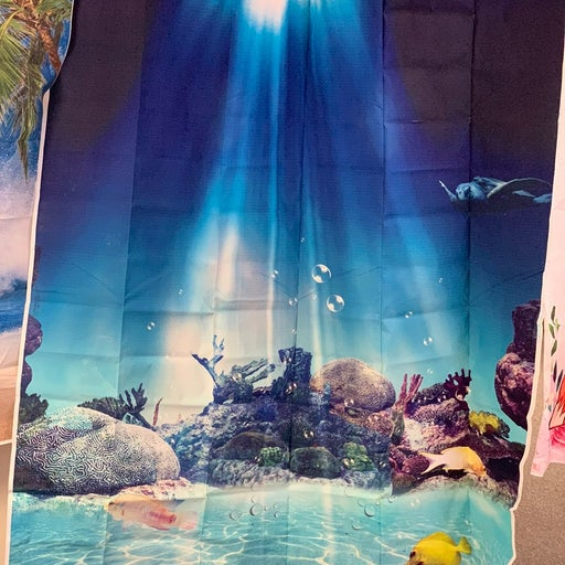 Ocean photo backdrop