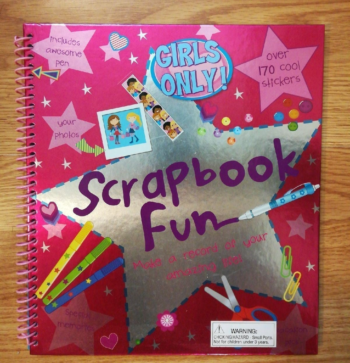Scrapbook for girls