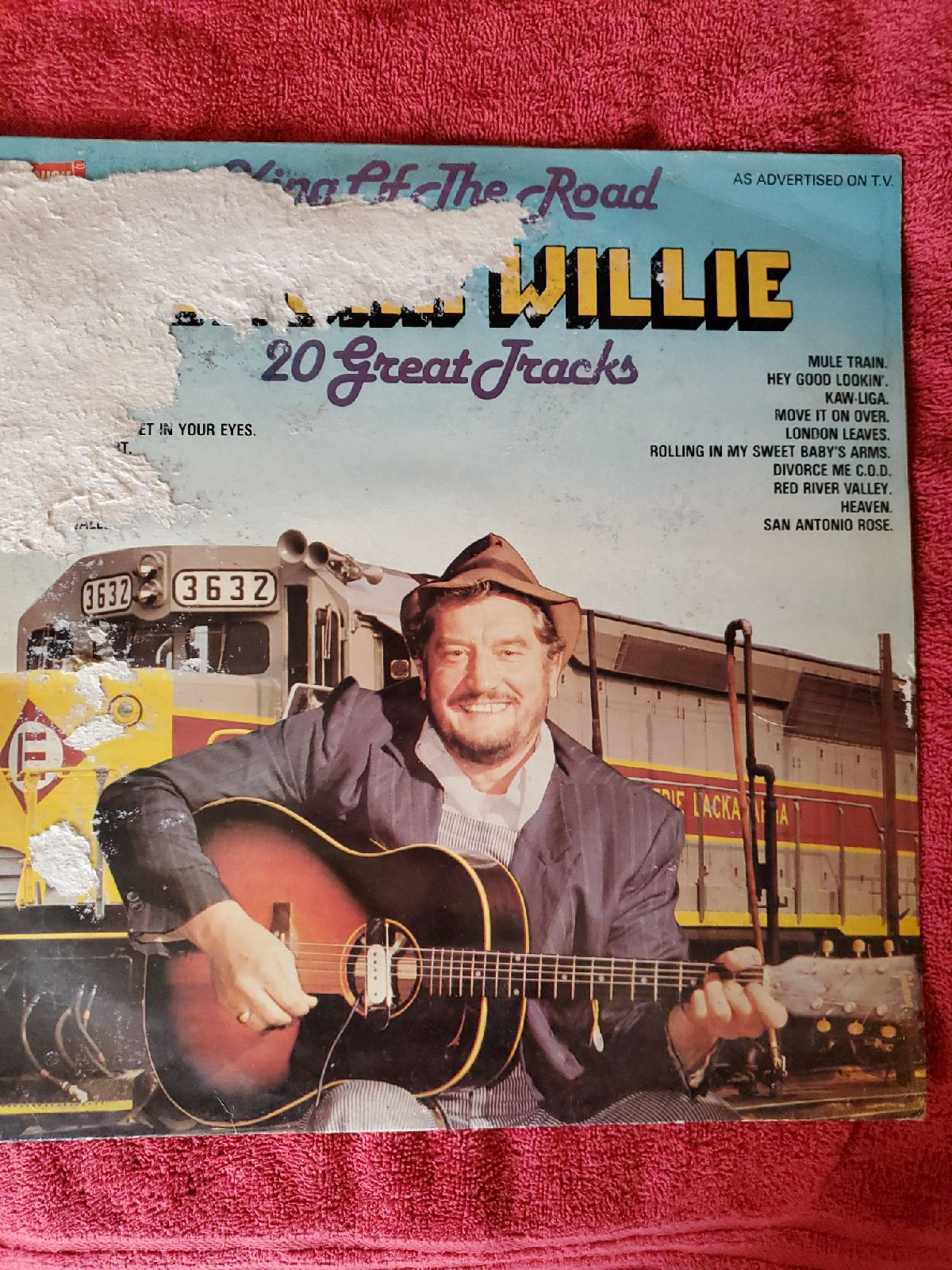 BoxCar Willie Vinyl Record