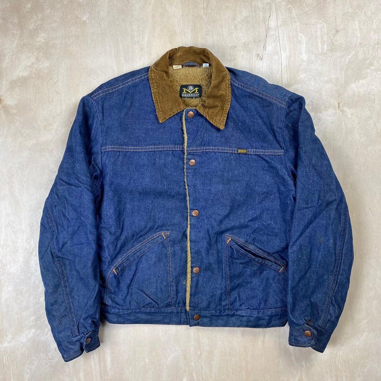 Vintage Blue Bell Maverick Denim Jacket