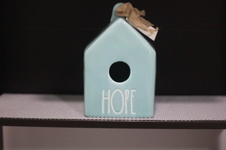 Rae Dunn Hope Birdhouse