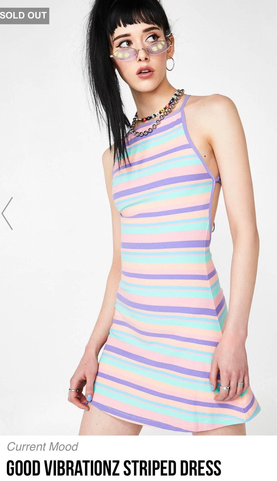 Current Mood Good Vibrationz Dress