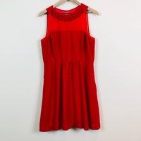 2556b7b5d6cdf Anthropologie Maeve Lattice Neck Dress