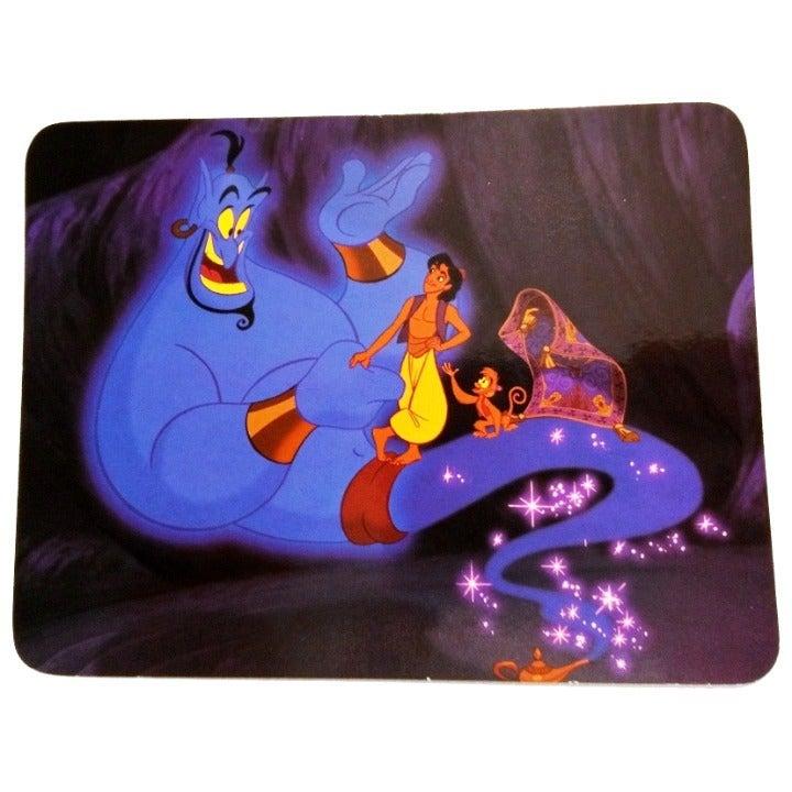 Disney Aladdin Postcard - with Genie