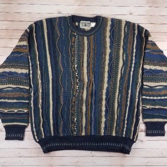 VTG 80s/90s Idea Uomo Coogi G-Pa Sweater