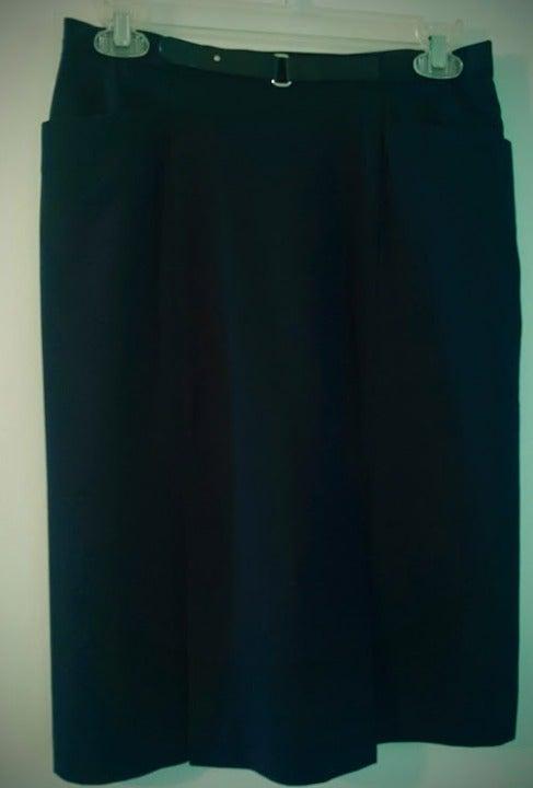 Black I.E. Dress Skirt  (Size 8)
