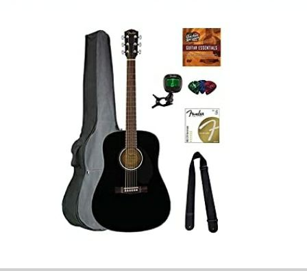 Fender CD-60S solid top dreadnought acou