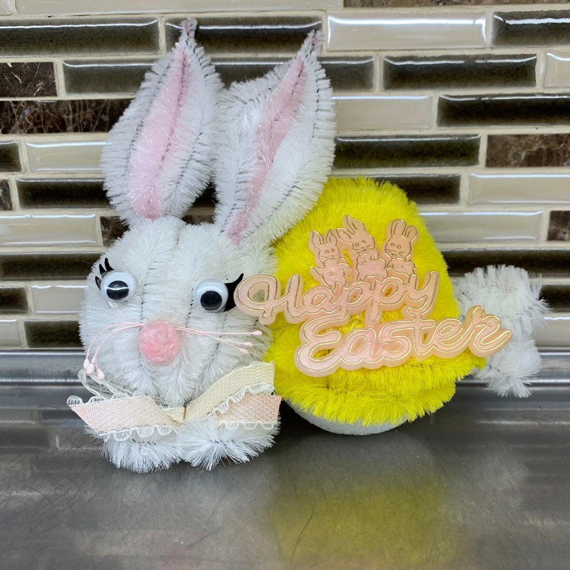 Vintage Easter Bunny Decoration