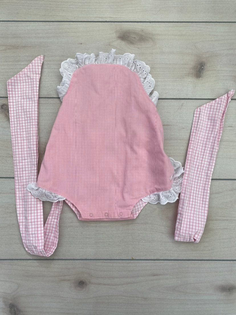 Girls Beaufort Bonnet sunsuit romper 2t