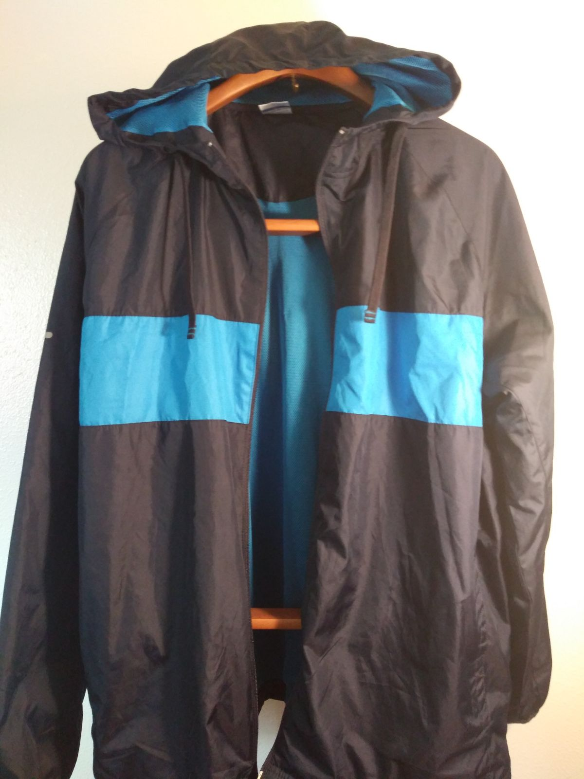 Rain Jacket by Starter with hood