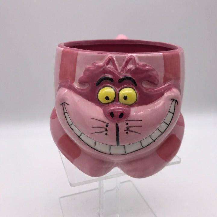 Disney 3D Cheshire Cat Coffee Mug EUC