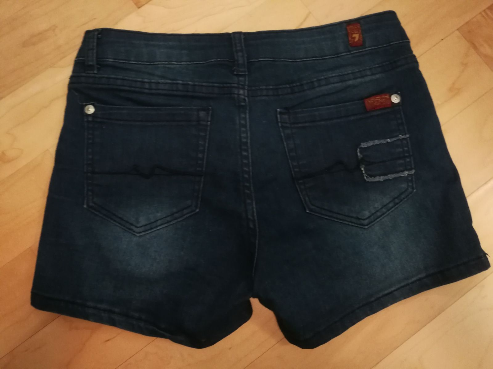 seven for all mankind girls jeans shorts