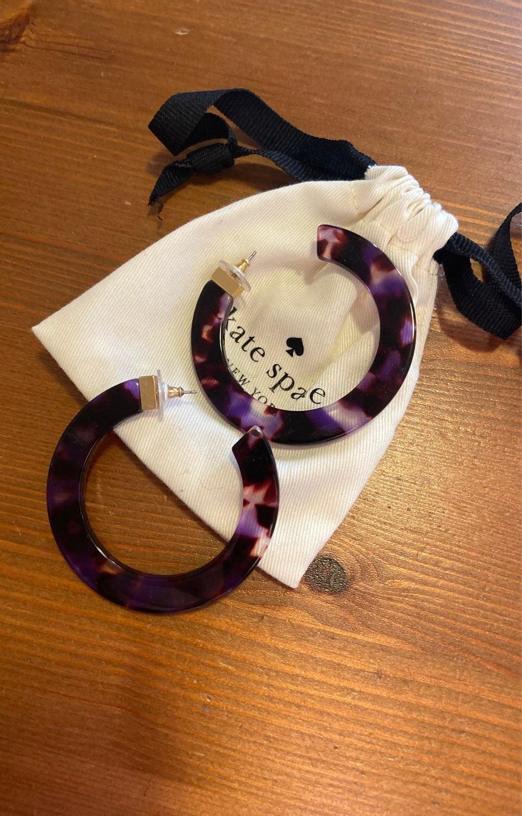 Kate spade new york hoop earrings