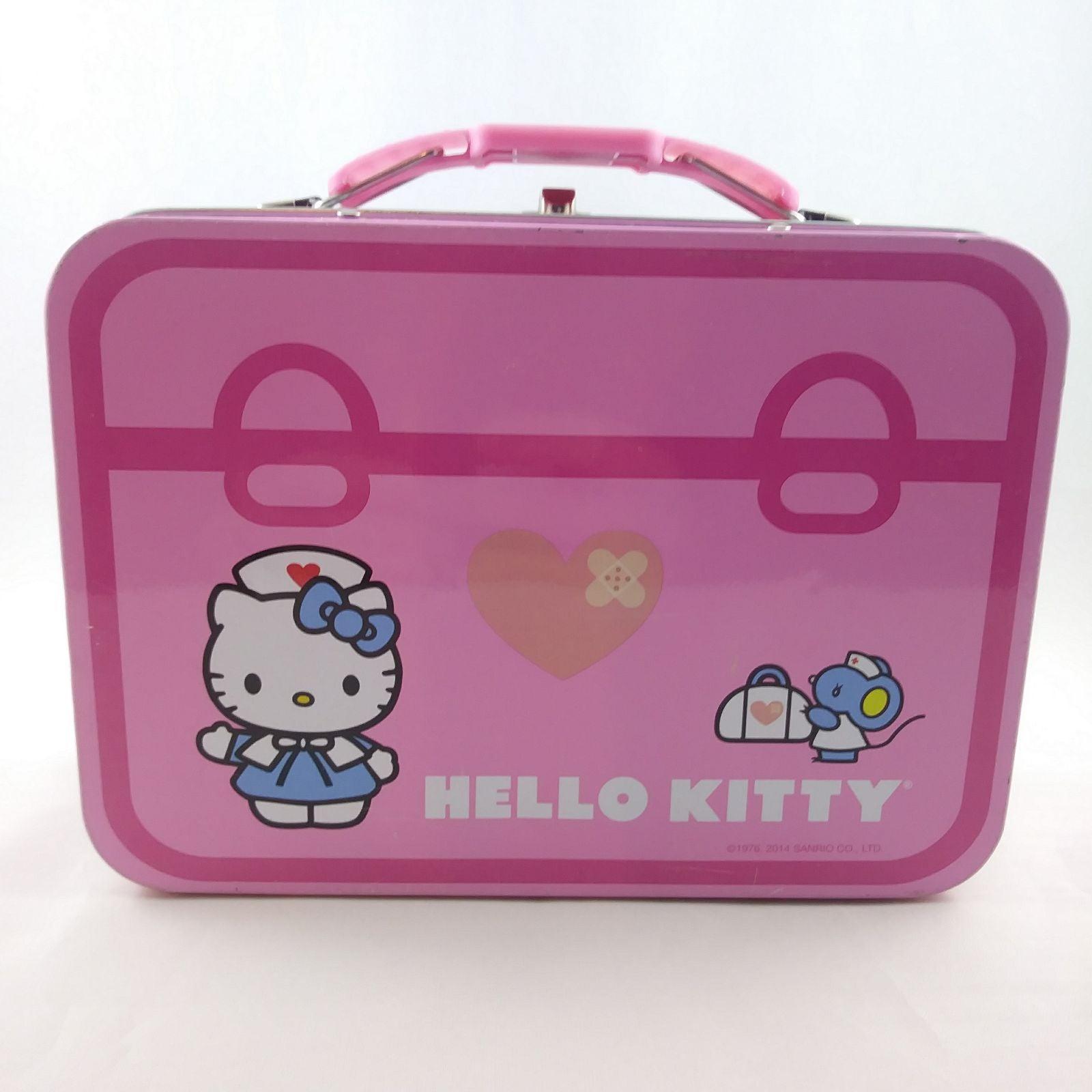 Hello Kitty First Aid Kit Tin Box Sanrio