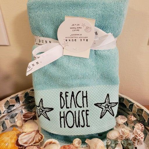 Rae Dunn beach hand towels