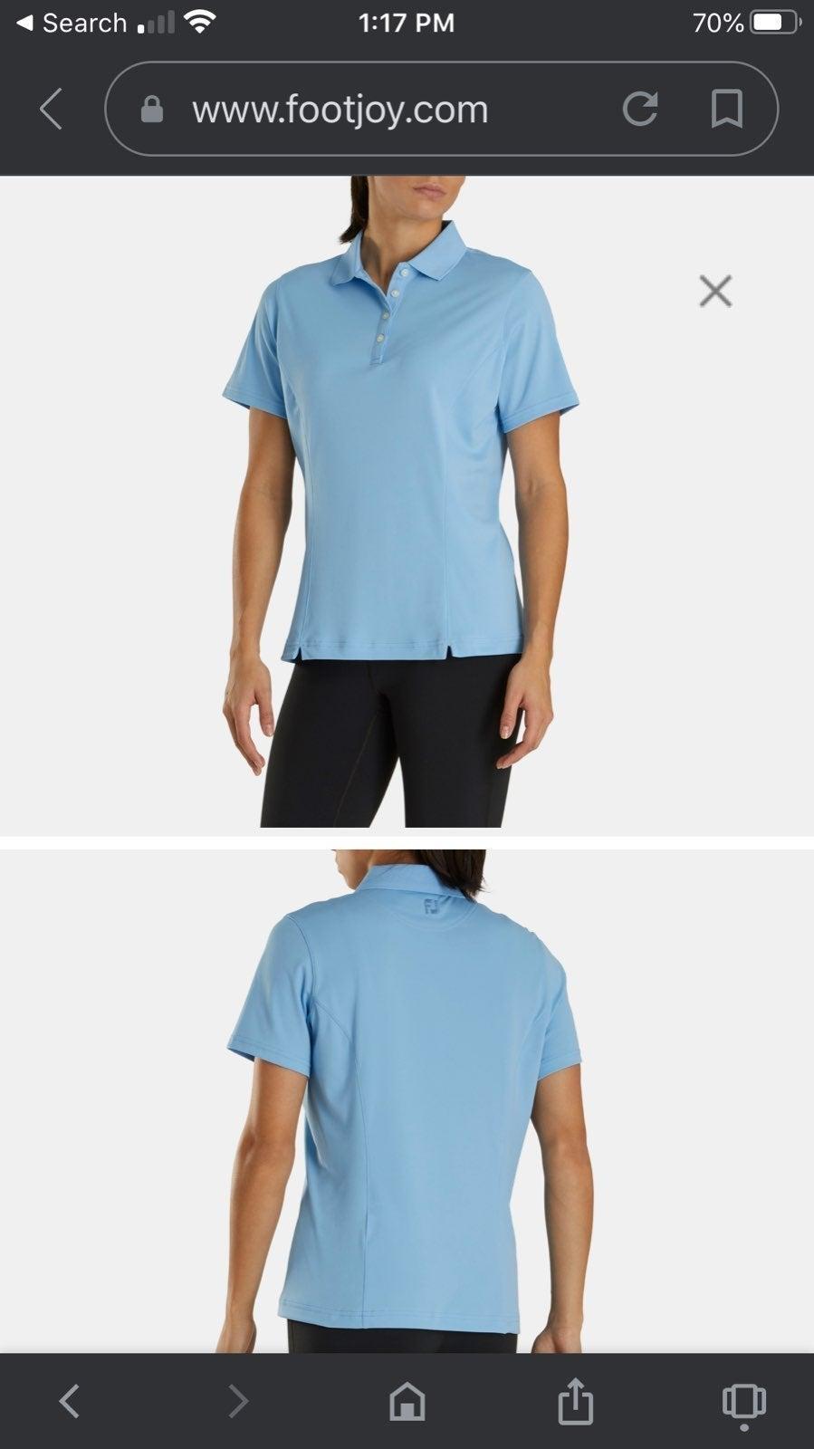 Footjoy Women's ProDry Interlock Shirt S