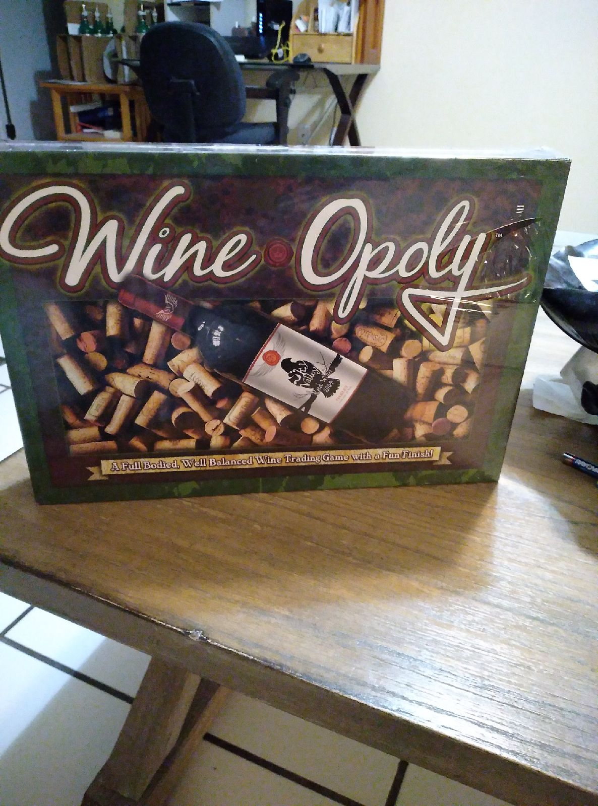 Wine opoly game