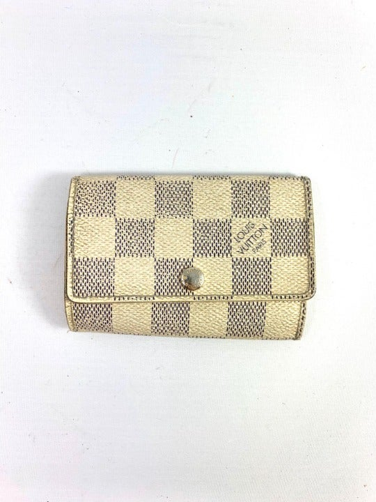 Louis Vuitton Damier Azur Key Holder