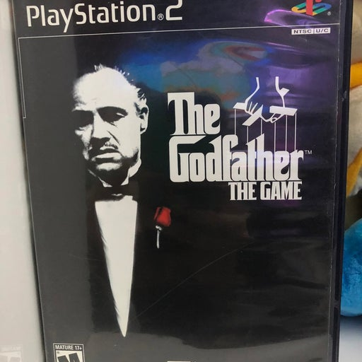The Godfather on Playstation 2 with Map